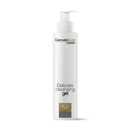 Delicate cleansing gel for all skin types